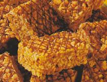 Croustillants au chocolat et riz soufflé