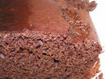 Gâteau au chocolat des isles