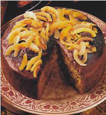 Gâteau croquant au chocolat et à la noix de coco