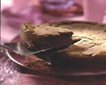 Tarte au chocolat et au moka